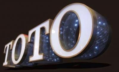 Back lit led chennal letter sign