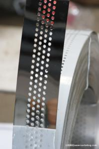 stainless steel strip roll with hole